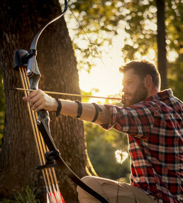 La chasse à l'arc traditionnel
