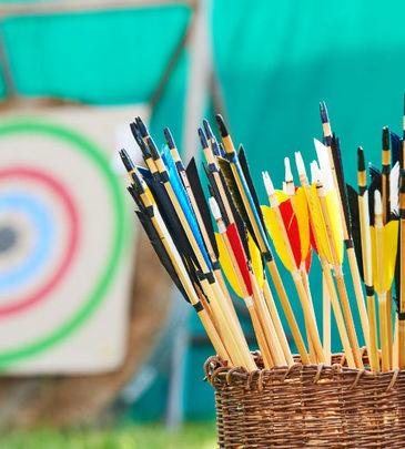 Le matériel de chasse à l'arc
