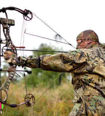 La réglementation de la chasse à l'arc
