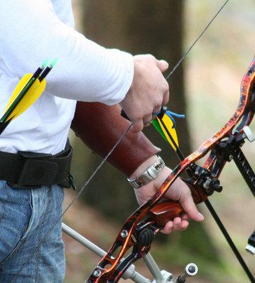 Le matériel de tir à l'arc